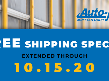 Free Shipping Special Extended