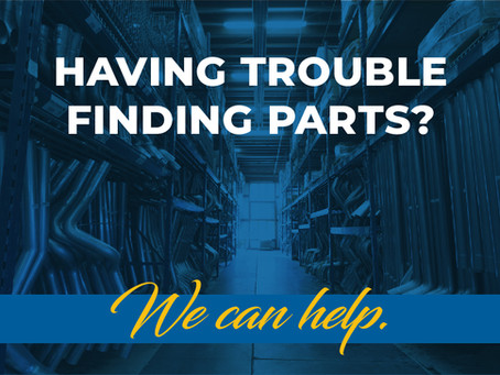 Need parts not in stock? We can help!