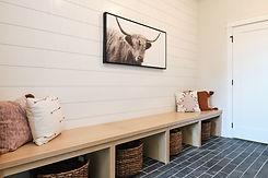 Drop Zone in Custom Home Built by Ridgewood Homes LLC