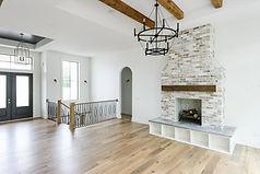 Ridgewood Homes Custom Home Living Room