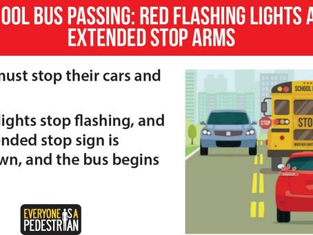 October: Pedestrian Safety Month