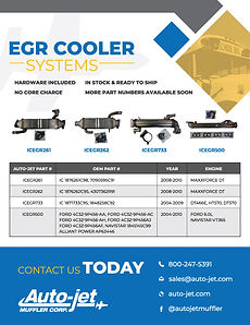 Auto-jet EGR Cooler Systems Flier
