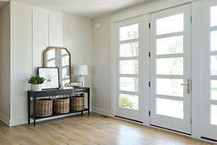 Ridgewood Homes Custom Home Entry Front Door