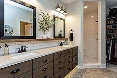 Ridgewood Homes Custom Home Master Bath