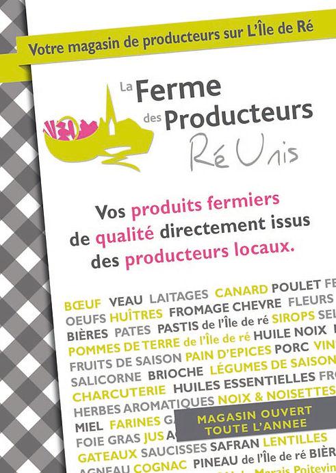 horaires producteurs île de Ré