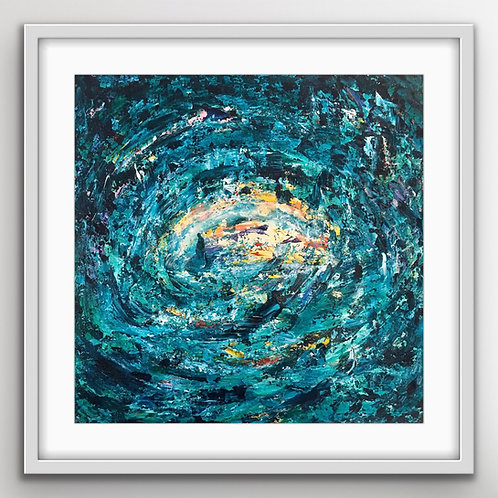 Finding Peace - Limited edition print