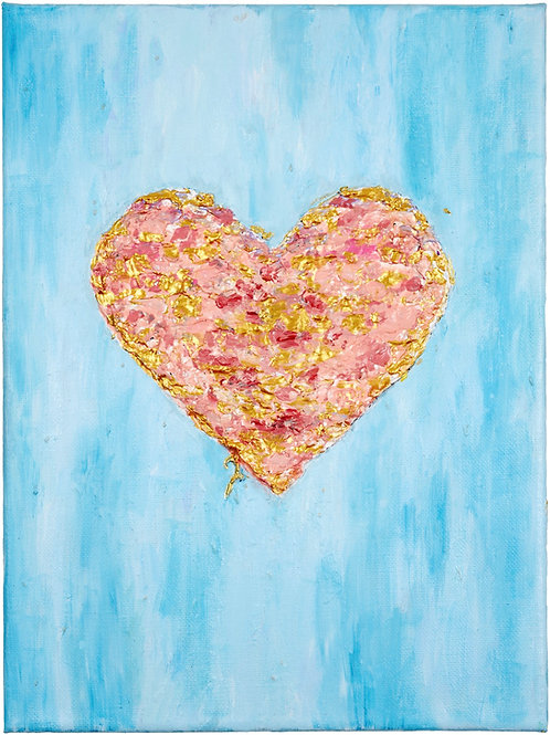 Floating Heart - Limited Edition Print