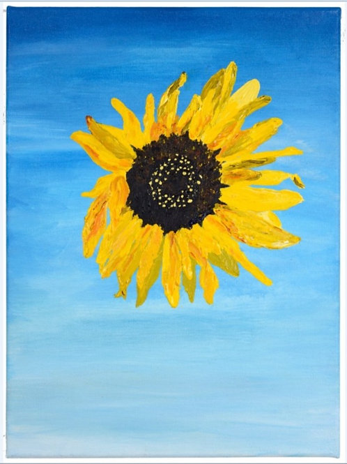 Mid-Day Sunflower - Limited Edition Print