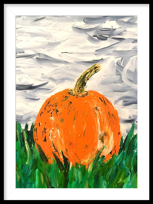 Magical Pumpkin - Limited edition print (unframed)