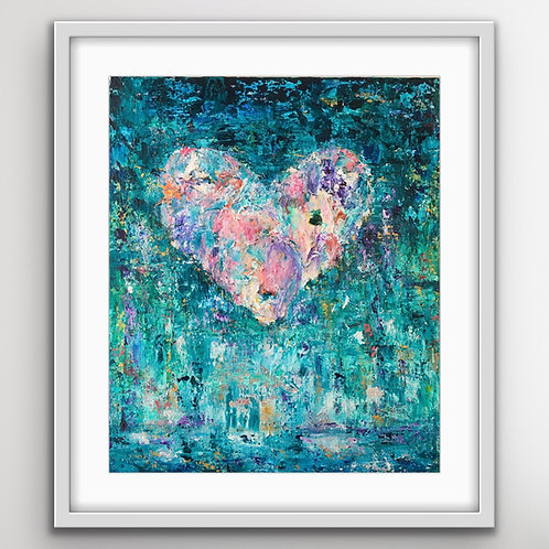 Healing Pieces - Limited edition print
