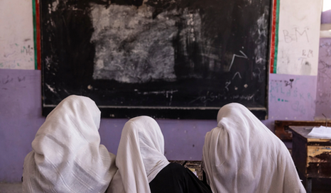 A Harsh New Reality for Afghan Women and Girls in Taliban-Run Schools