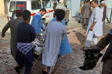 Afghanistan Mosque Bombing Kills Dozens of Worshipers