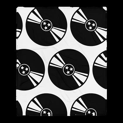 """Tri-Star Vinyl"" Throw Blanket"