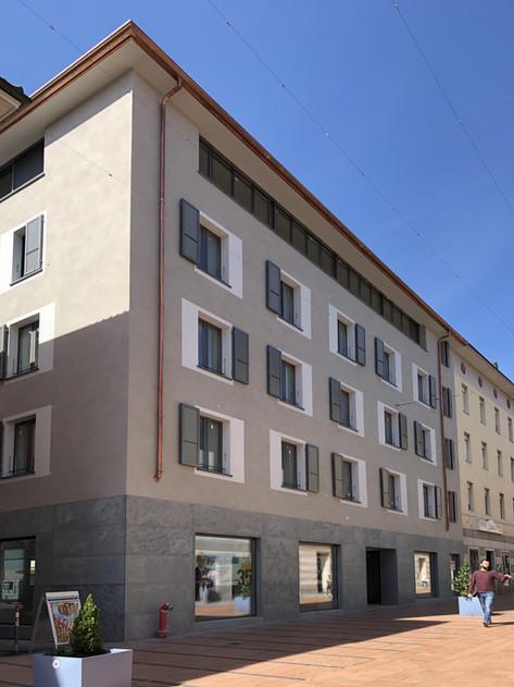 Ristrutturazione edificio - Chiasso
