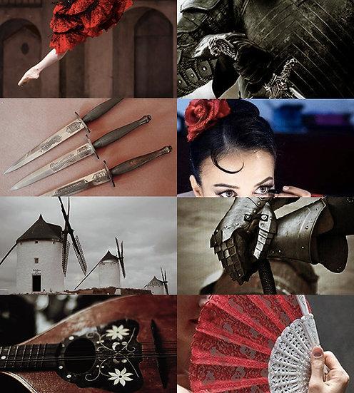 "Caixa Arquetípica Kitri ""Dom Quixote"" | Arquétipo da Anarquista"