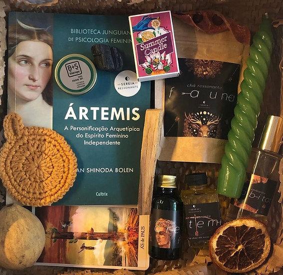 Caixa Arquetípica Ártemis - Arquétipo da Mulher Próspera