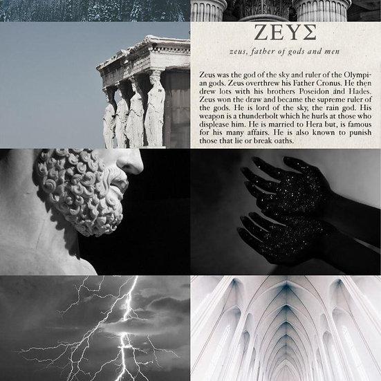 Caixa Arquetípica Zeus - Arquétipo daFortuna