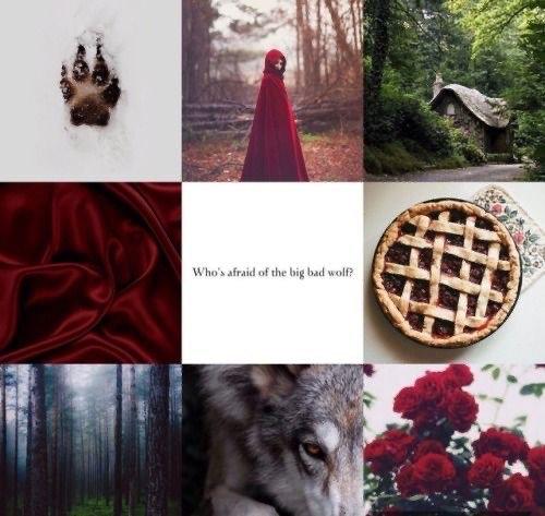 Caixa Arquetípica Chapeuzinho Vermelho - Série Contos de Fadas