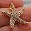 Thumbnail: Pingente Estrela do Mar com Topázio