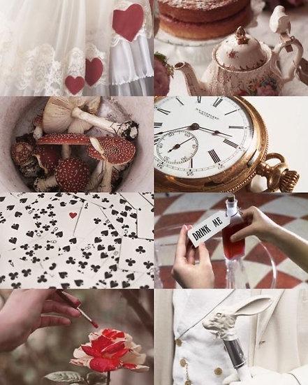 Caixa Arquetípica Alice - Série Contos de Fadas