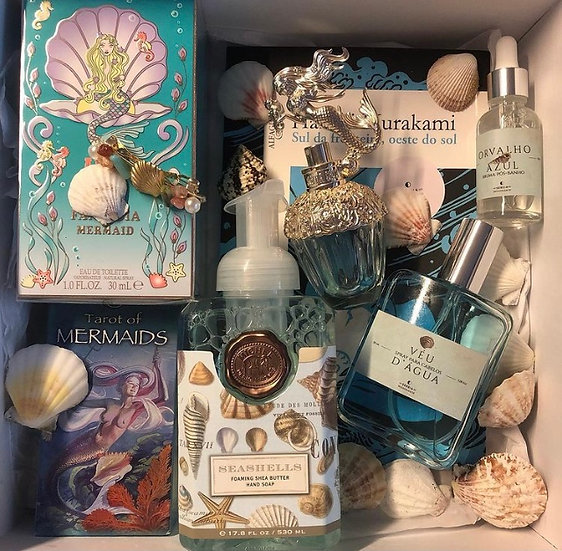 Caixa Sereia Ressonante Fantasia Mermaid