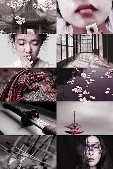 Caixa Arquetípica Geisha - Arquétipo da Sensibilidade e Talento