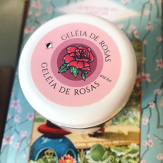 Geleia de Rosas Comestível