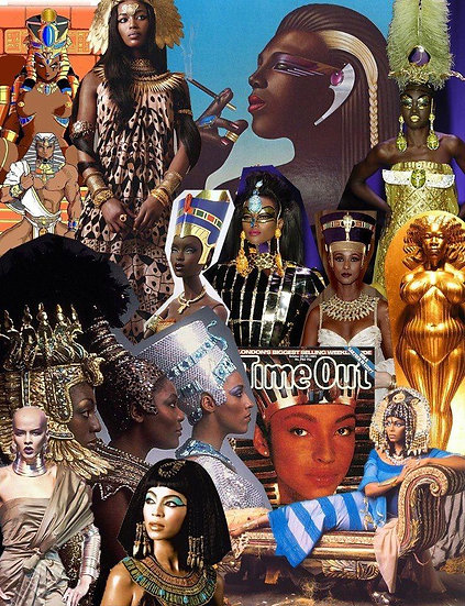 Caixa Arquetípica Nefertiti - Arquétipo do Fascínio