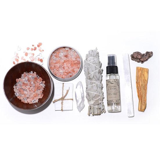 Crystal Cleanse Ritual Kit