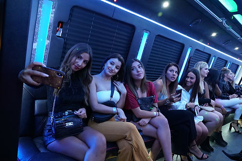 Let's Party Tonight Package Party Bus