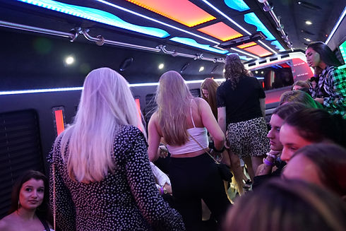 Let's Party Tonight Miami Party Bus Rental
