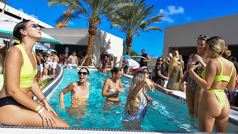Let's Party Tonight Miami Pool Party Dayclub