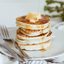 Gluten Free Pancakes with Blueberry Compote Recipe