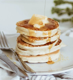 Hawaiian Banana Pancakes
