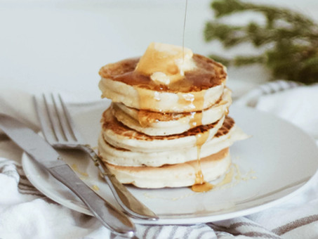Keto Peanut Butter Pancakes