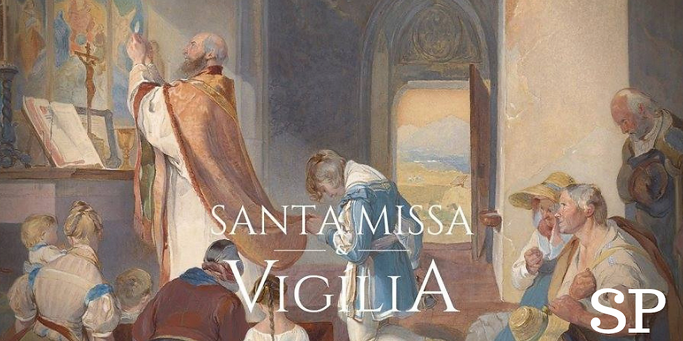 Santa Missa e Vigília | Famílias Novas - SP