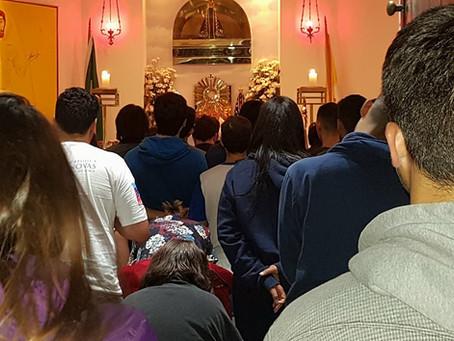 Vigília no Cristo Redentor