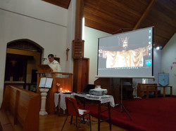 Fr Gary Preaching