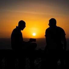 Sunset over Lake Managua