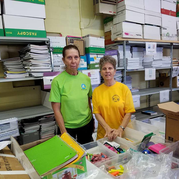 Packing School Supplies is a Labor of Love