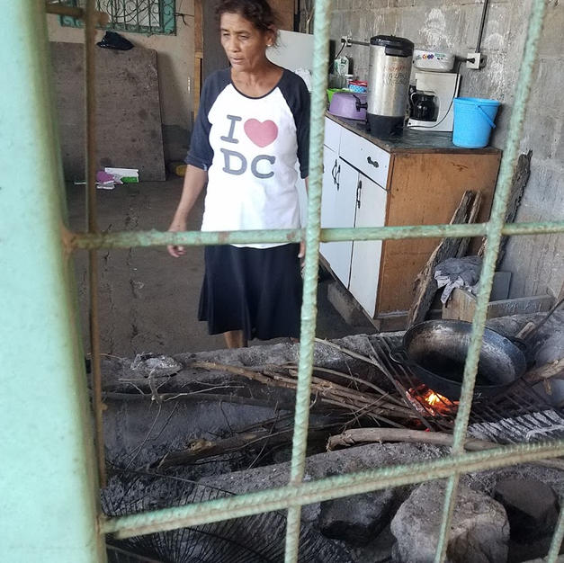 Typical Kitchen in Nicaragua