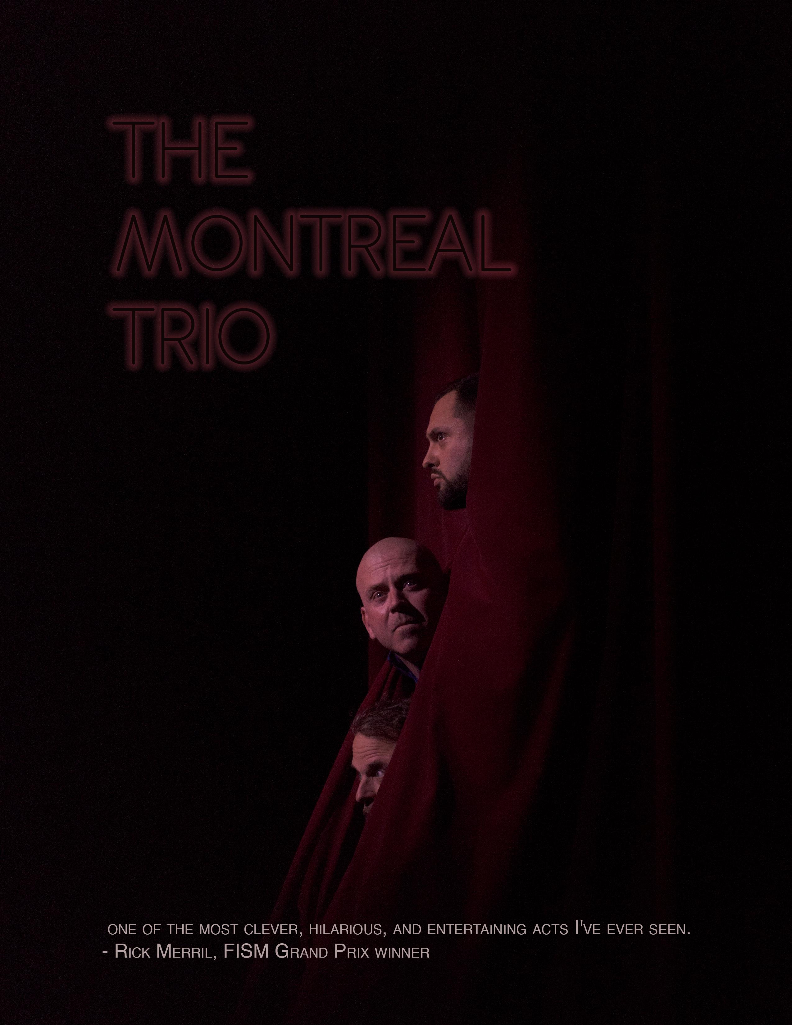 Graphisme - Montreal Trio