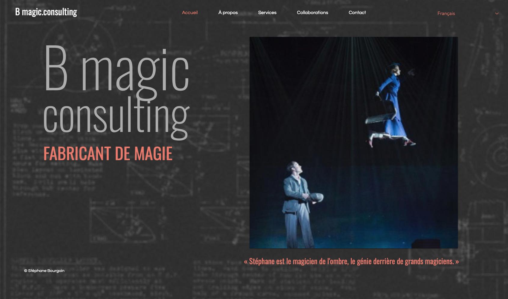 Site web - B Magic Consulting