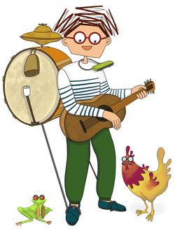 Albert homme orchestre