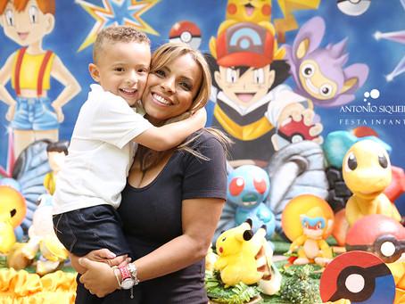 Fotógrafo de Festa Infantil: Gustavo - 4 anos