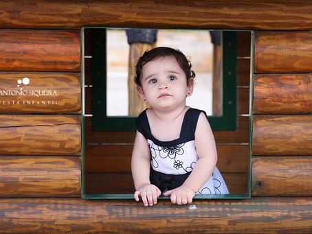 Fotógrafo de Festa Infantil: Manuela - 1 ano