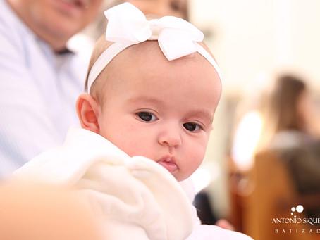 Fotógrafo de Batizado: Valentina