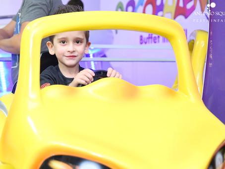 Fotógrafo de Festa Infantil: Frederico - 6 anos