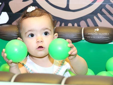Fotógrafo de Festa Infantil: Bárbara - 1 ano