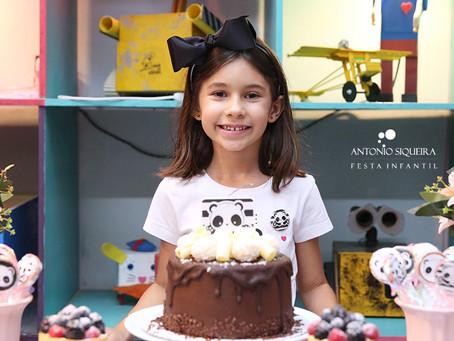 Fotógrafo de Festa Infantil: Clara - 7 anos